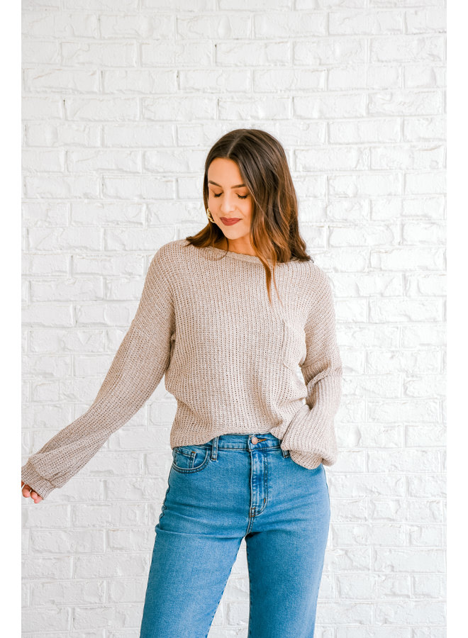 Brewed Knit Sweater