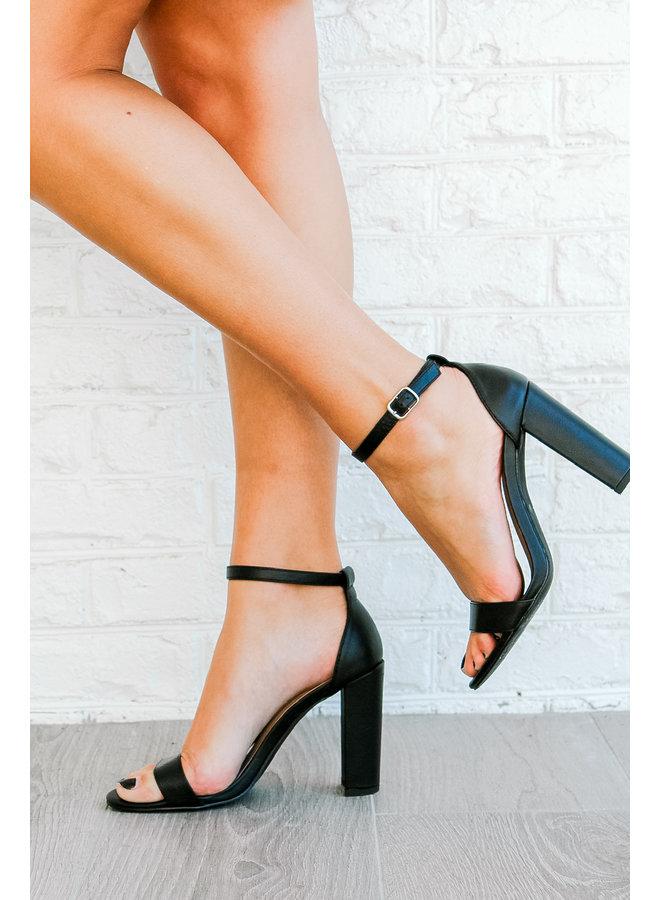 Always a Bridesmaid Heel - Black
