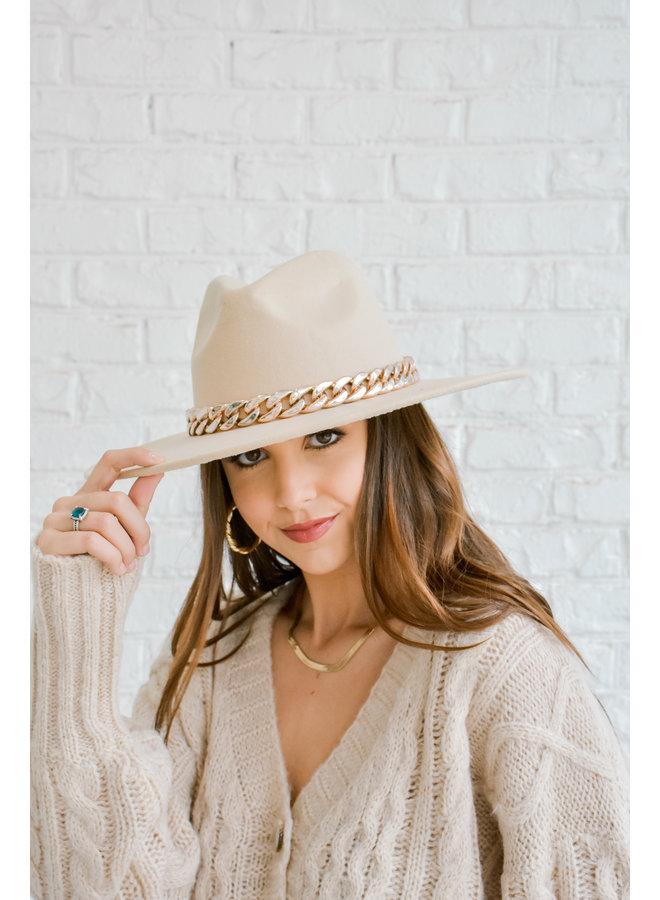 Golden Hour Chain Hat