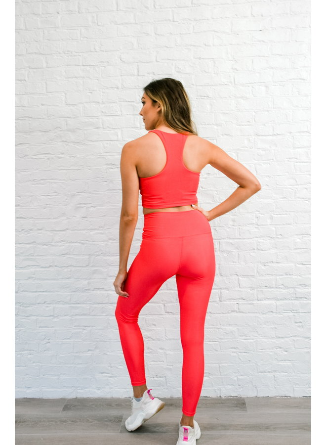 Ayla Legging - Red Hot