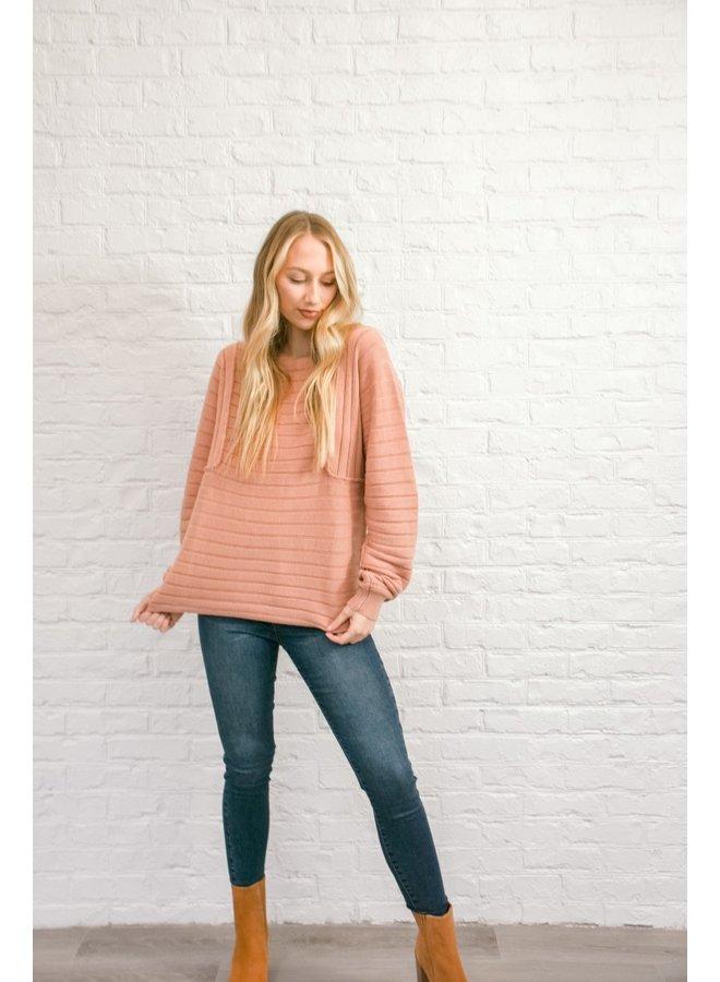 Cheeky Peach Sweater