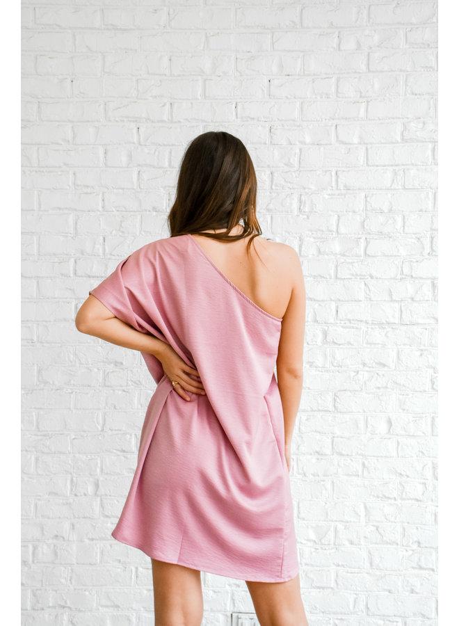 Sincerely Me Satin Dress