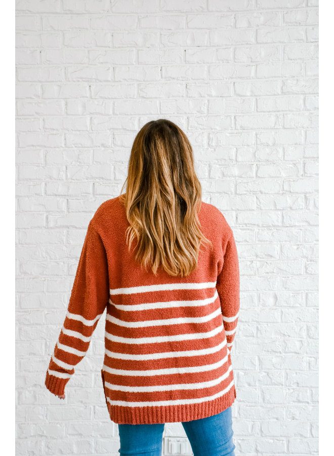 Early Riser Striped Sweater