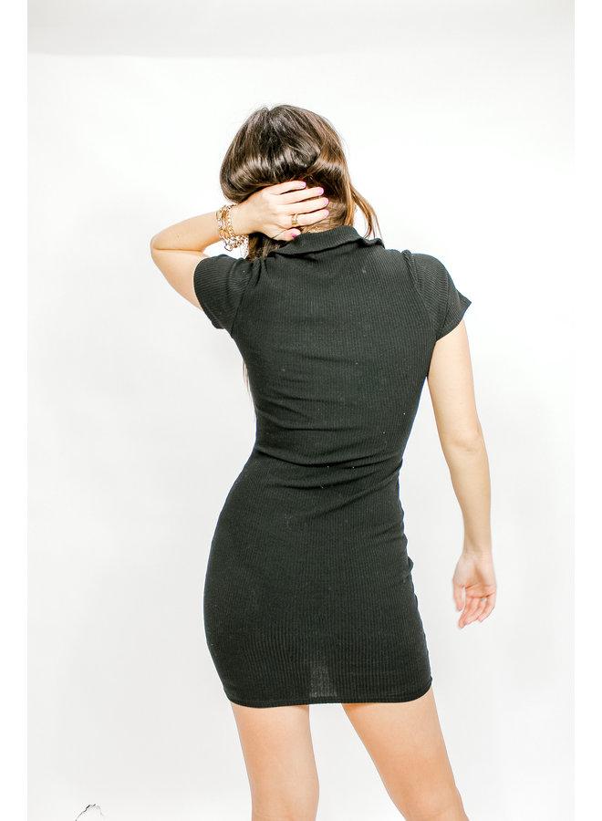 Pop Your Collar Dress