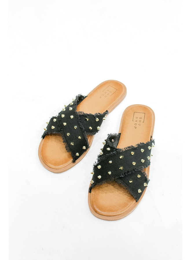 Stud All Day Sandals