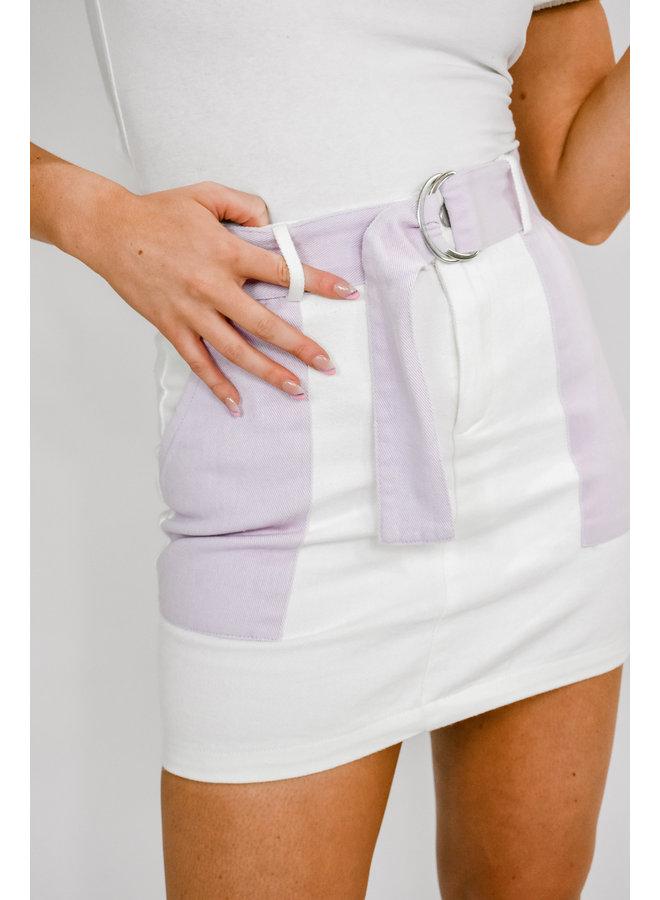 Tulip Tones Mini Skirt