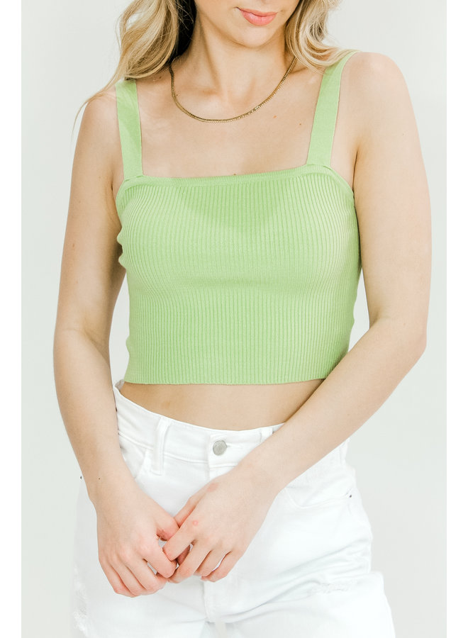 One In A Melon Knit Tank