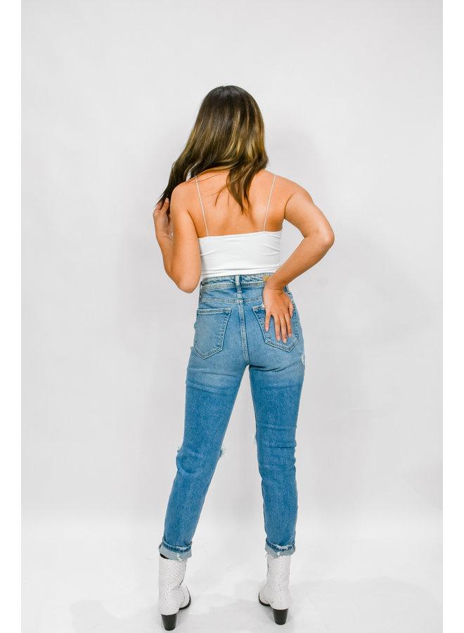 Summer Lovin' Mom Jeans
