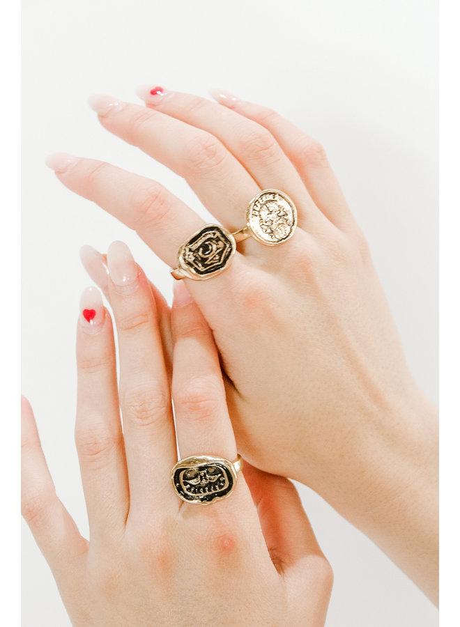 Charmed Ring Set