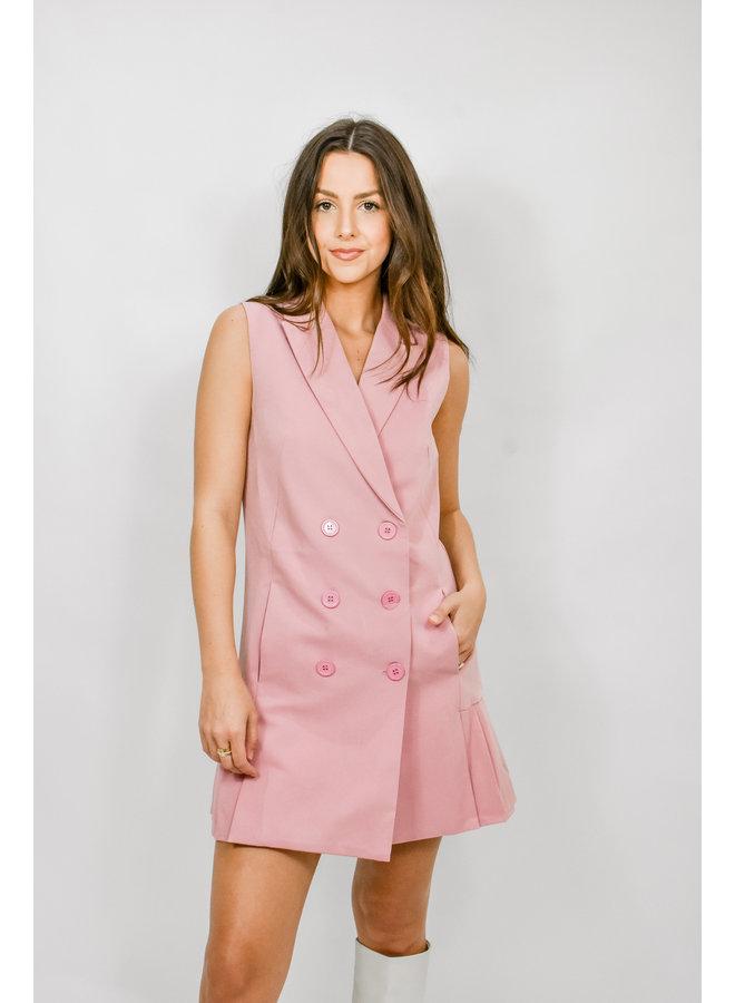 Tea Party Blazer Dress