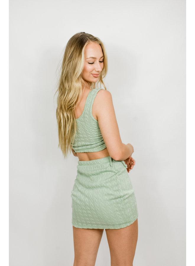 Love Language Skirt Set