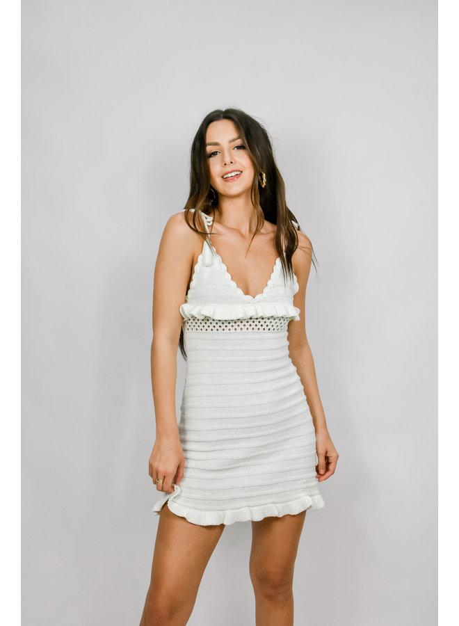 On Vacay Crotchet Dress