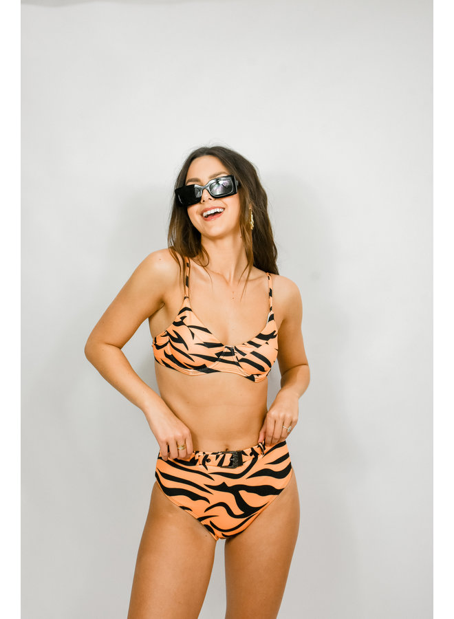 Tiger Queen Bikini Set