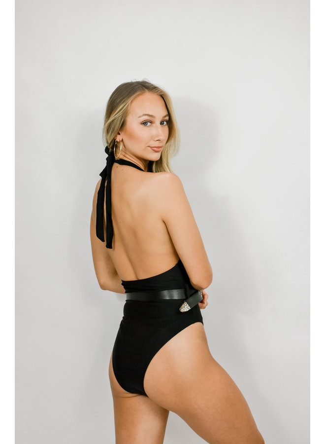 Palm Springs Belted One-Piece