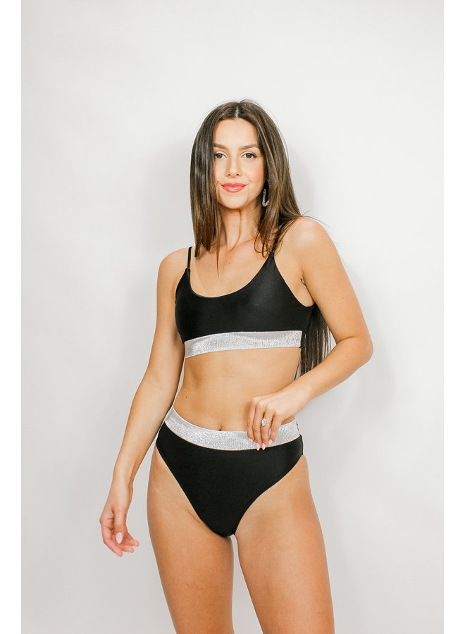 Bling Banded Bikini Set