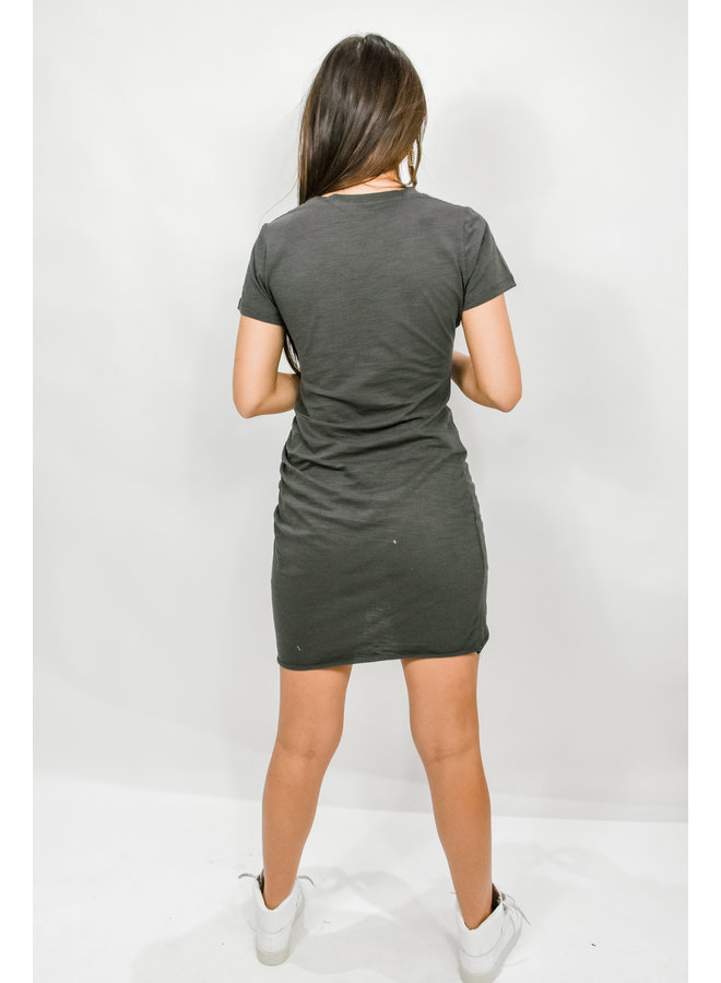 On the Verge Ruched Mini