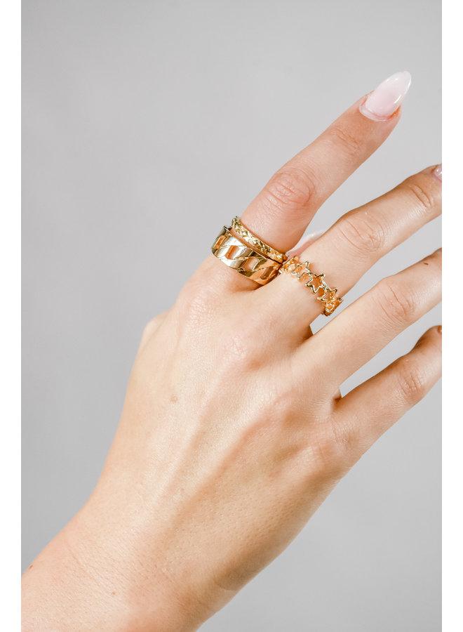 J'adore Ring Set