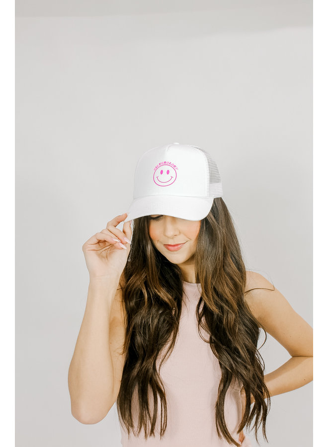 Smiley for Sisterology Trucker Hat