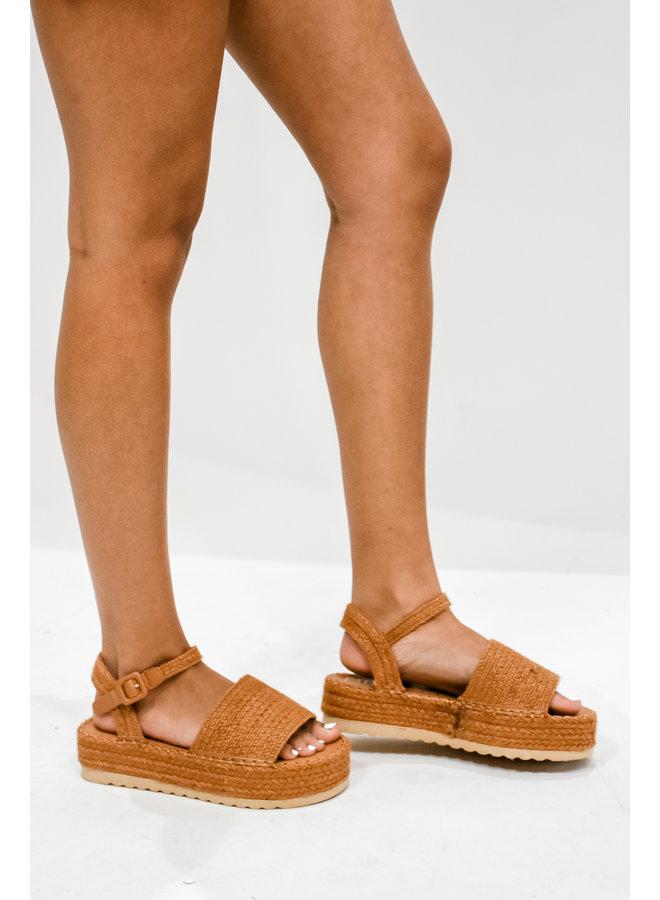 Destination Platform Sandals