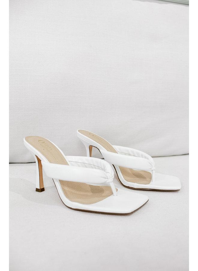 Essential White Heels