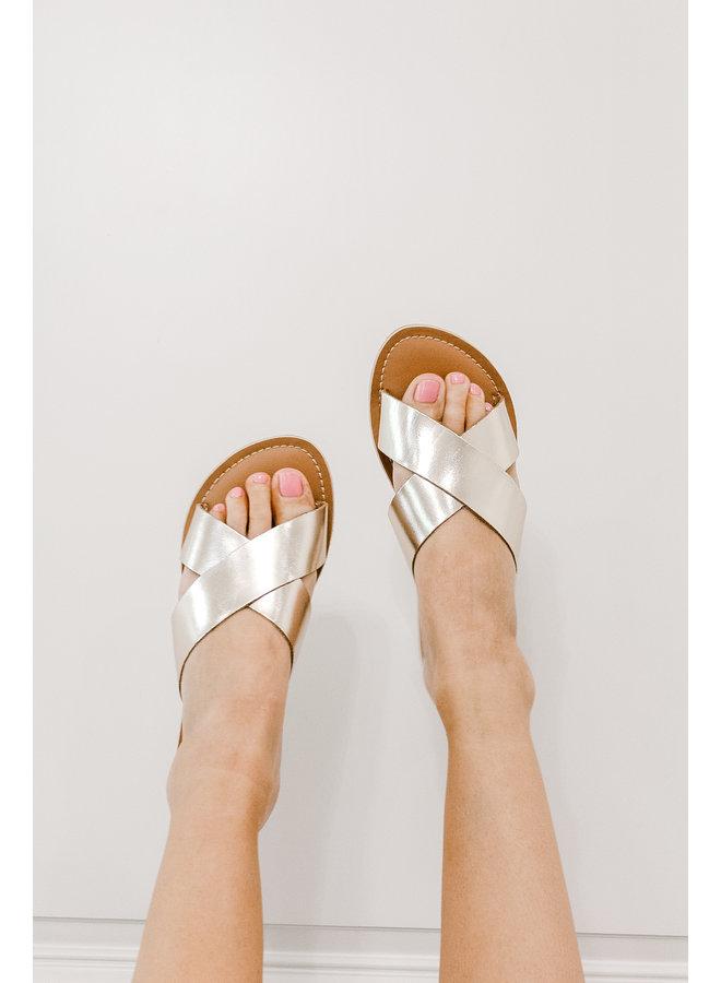 Golden Cove Sandals