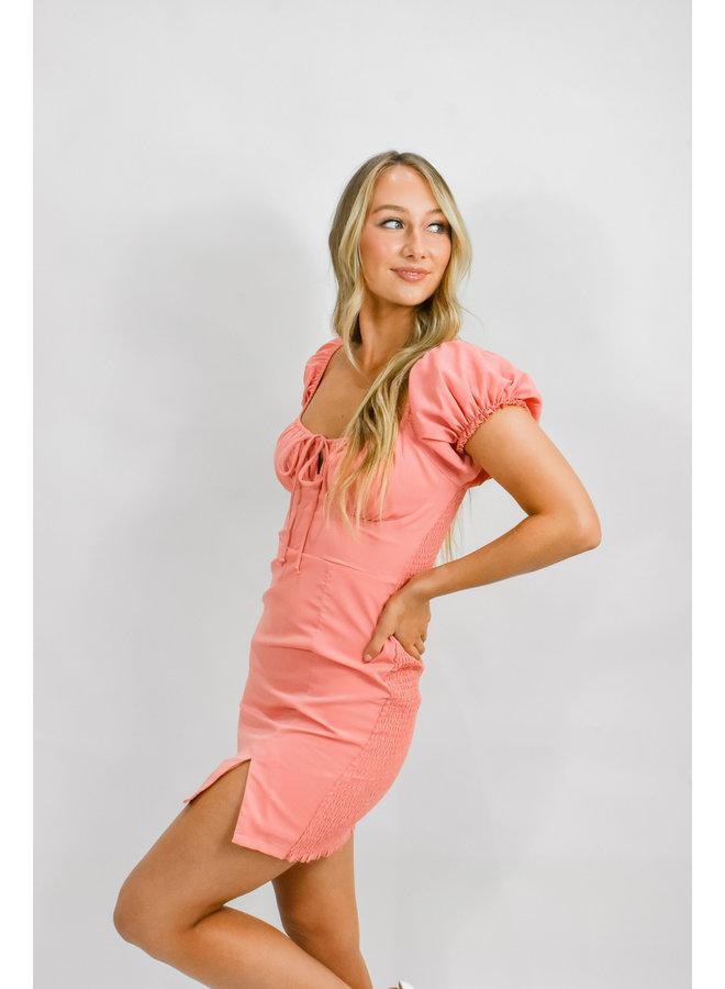 Peaches Mini Dress