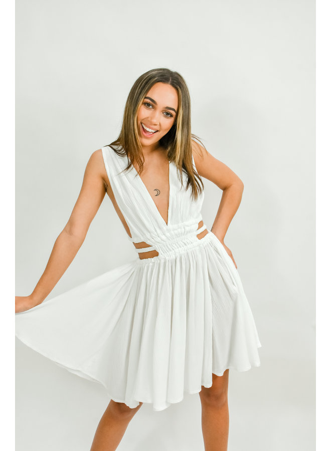 Oh Darling Dress - White