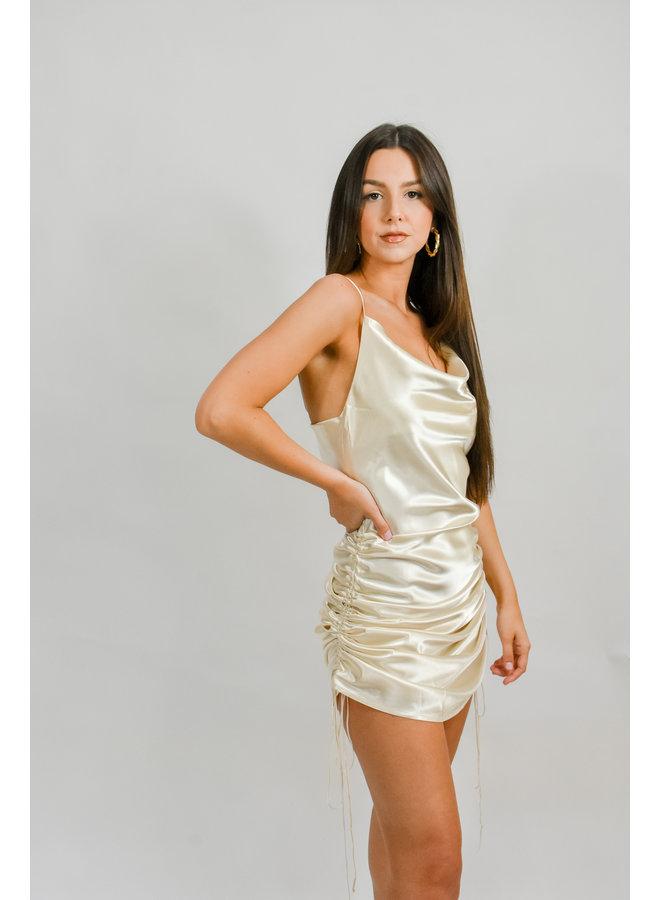 Your Way Satin Dress