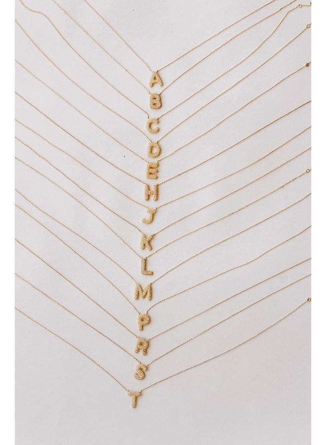 Love Letter Sparkle Necklace