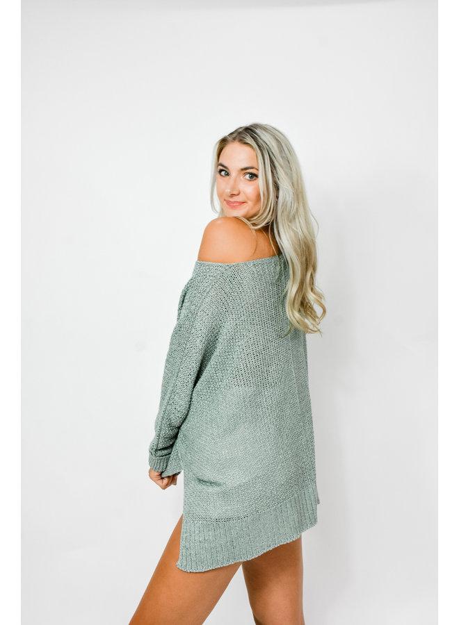 Waves Beach Sweater
