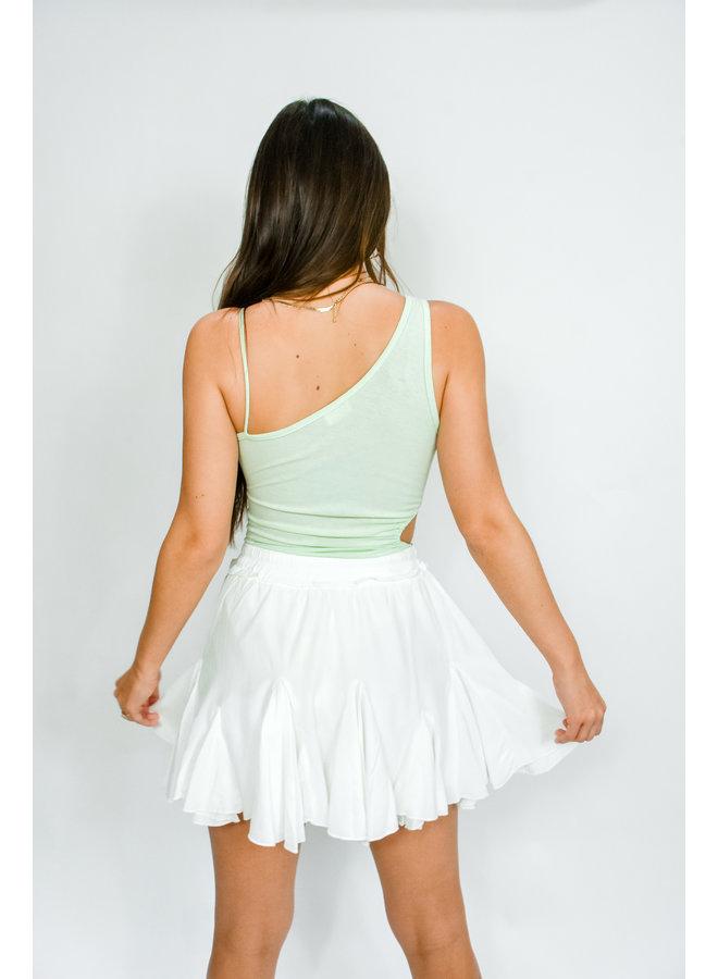Mint Me Cutout Bodysuit