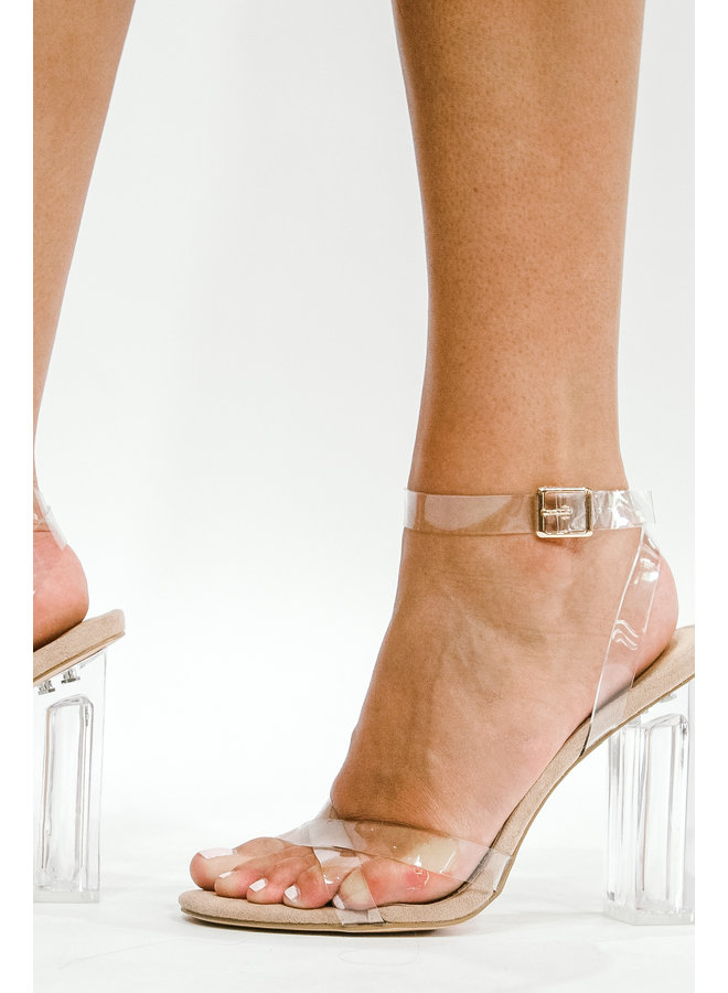 Crystal Clear Heels