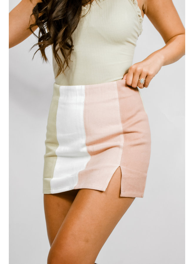 Fifty Shades of Pink Skirt