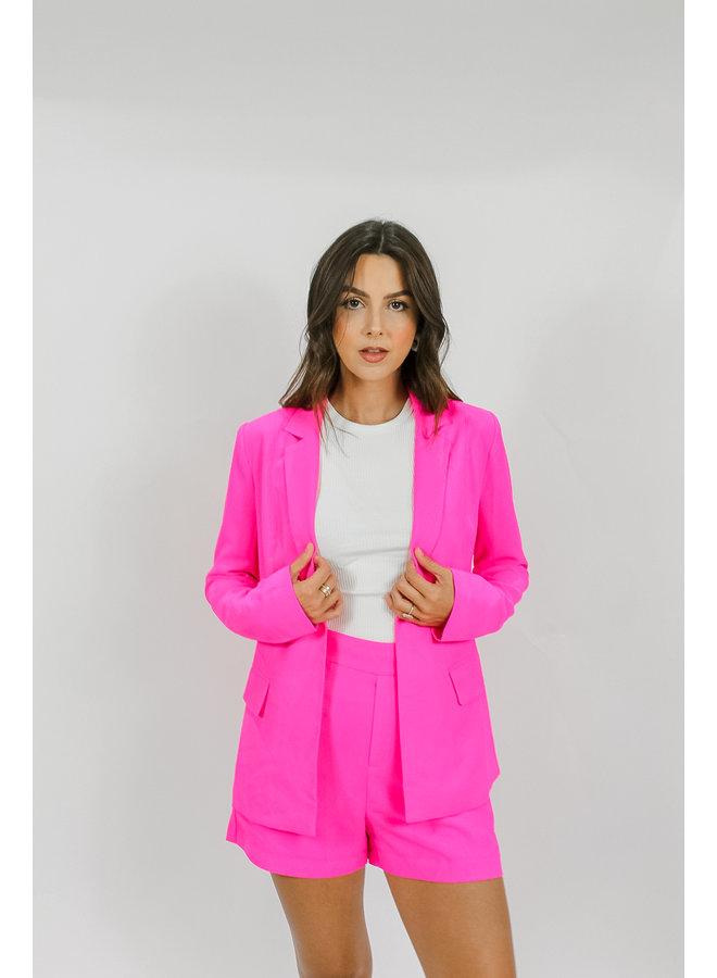 Elite Blazer - Hot Pink