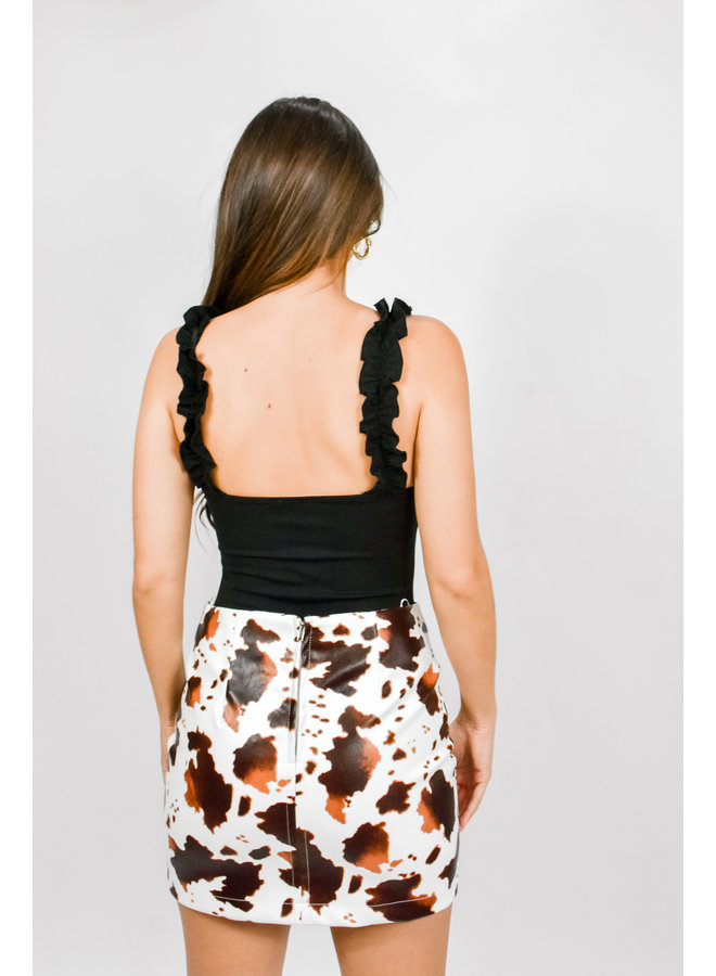 Down to Rodeo Mini Skirt