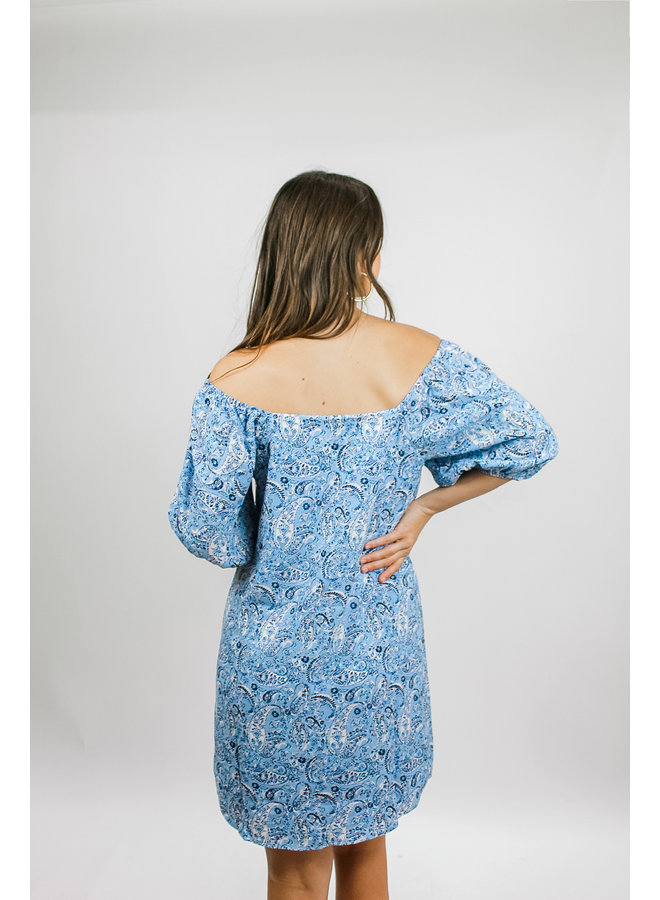 In the Sky Paisley Dress