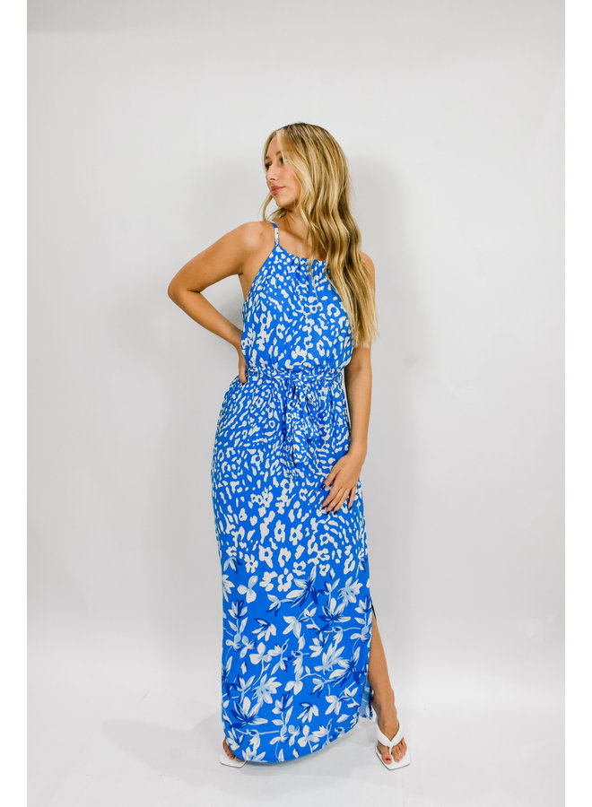 Miss Royal Blue Maxi