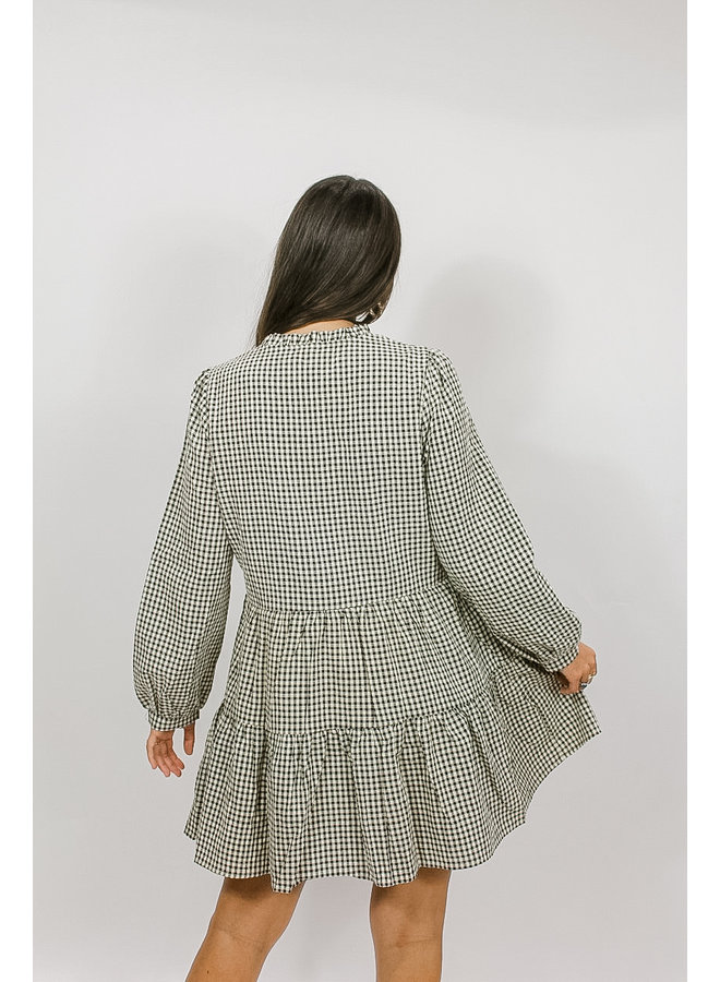 Gossip Girl Checkered Dress
