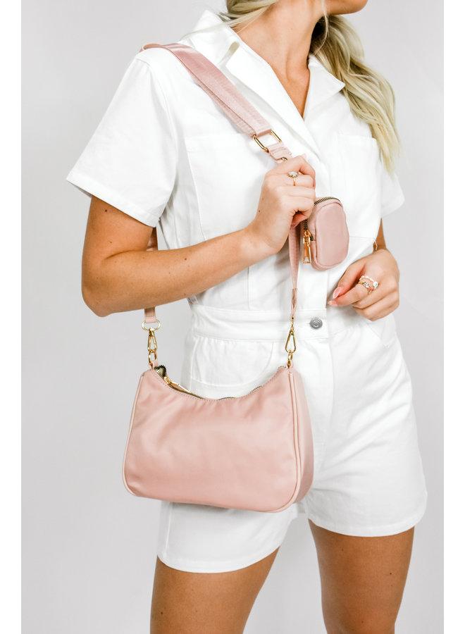 PRADAGY Shoulder Bag - Pink