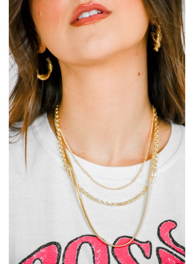Te Amo Necklace Set