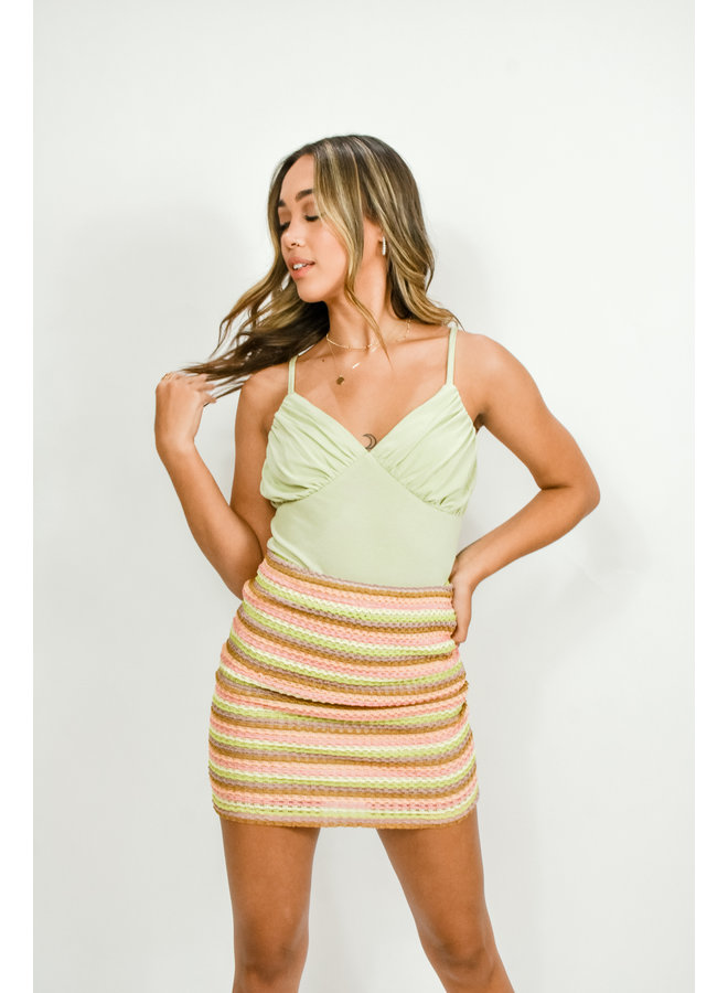 Mai Tai Mini Skirt