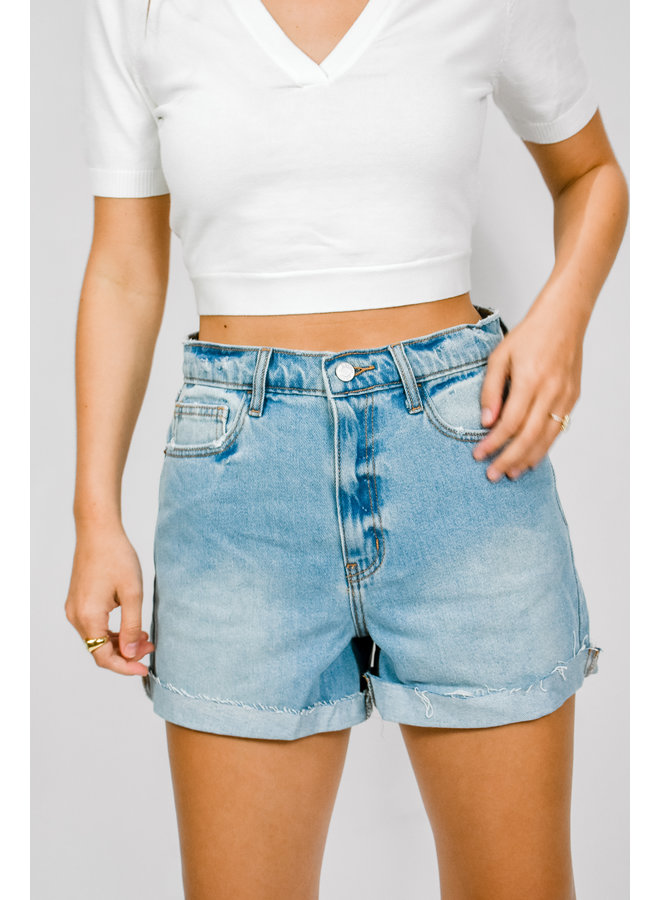 Ocean Drive Denim Shorts