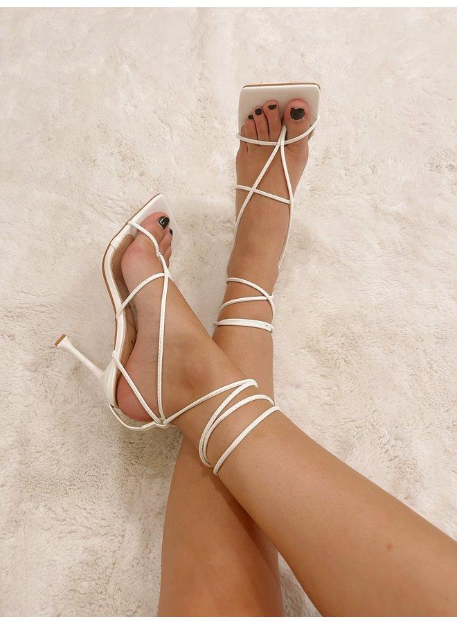 Let's Go Girls Strappy Heels