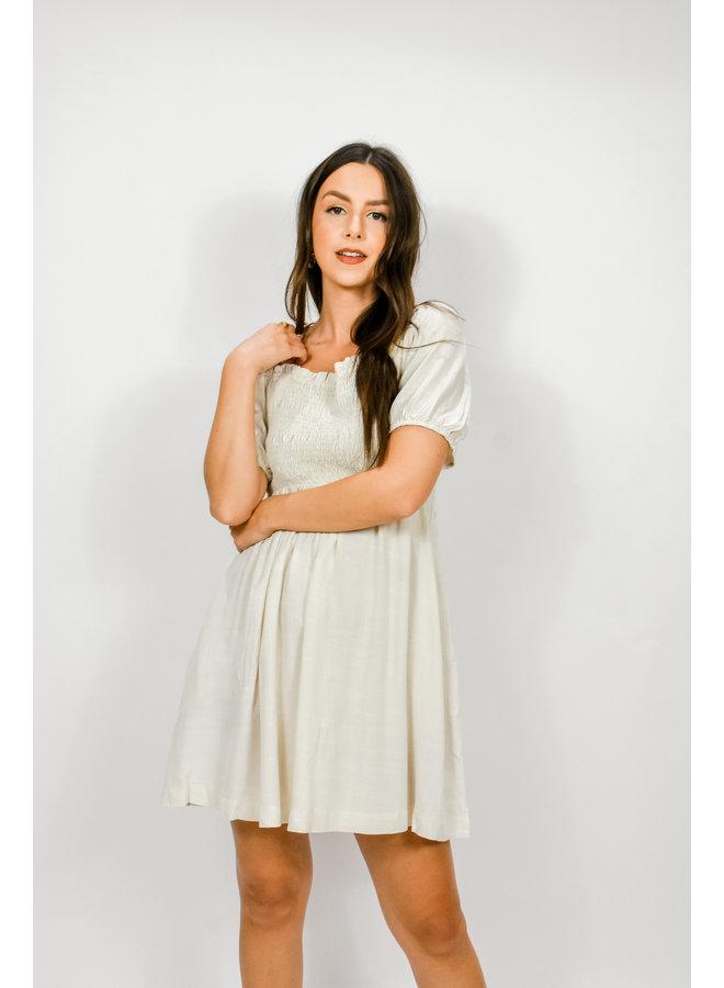 Star Student Babydoll Dress