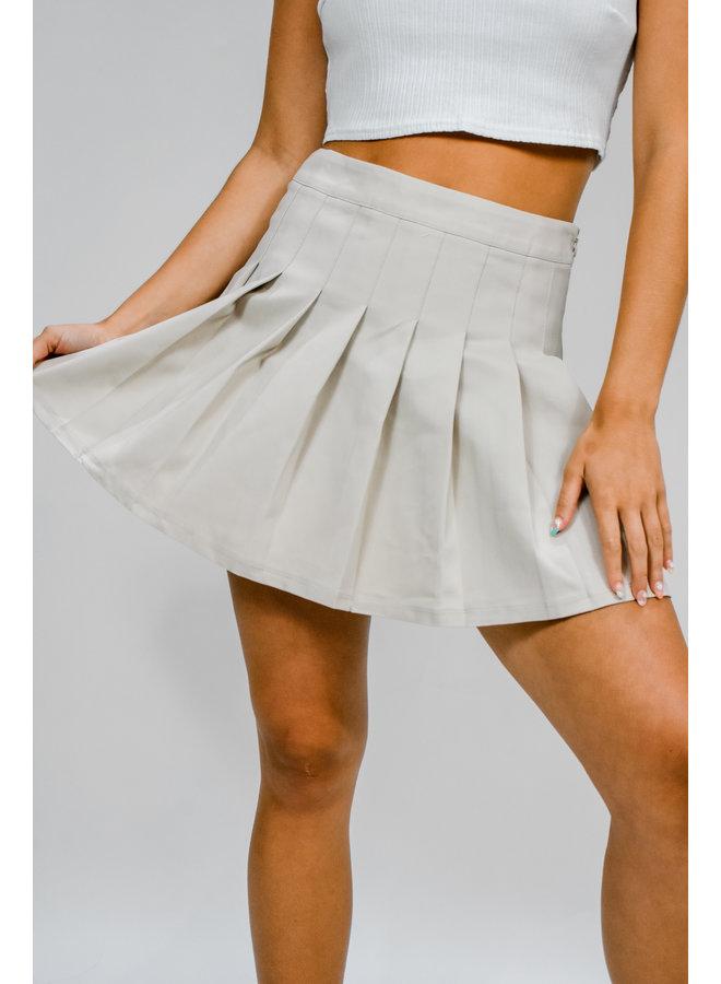 The Clique Tennis Skirt