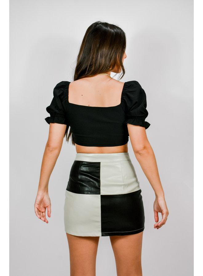 Saturday in Athens Mini Skirt
