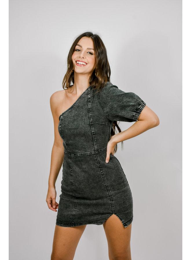 Halftime Denim Dress