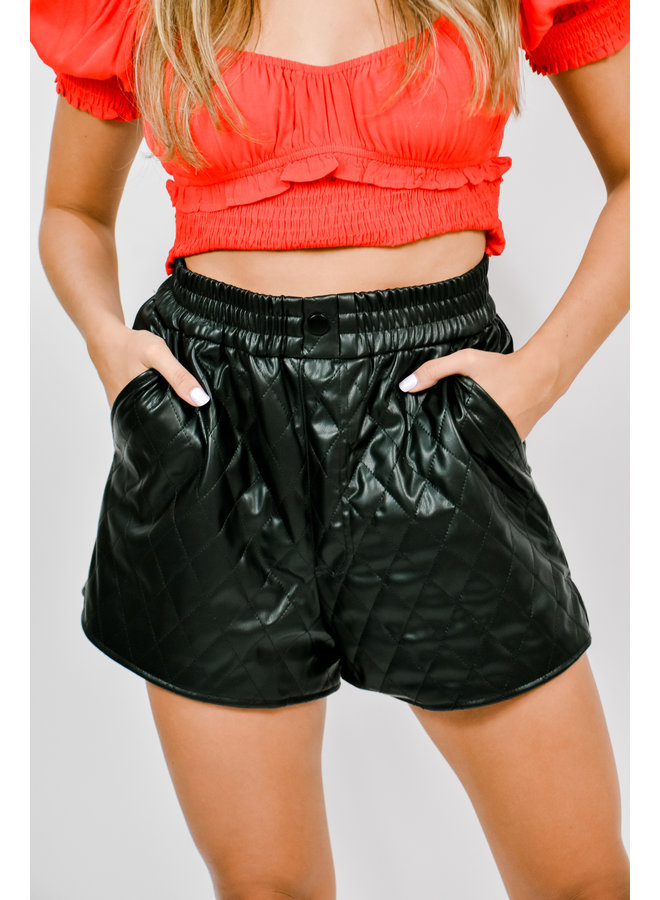 Tailgate Club Leather Shorts