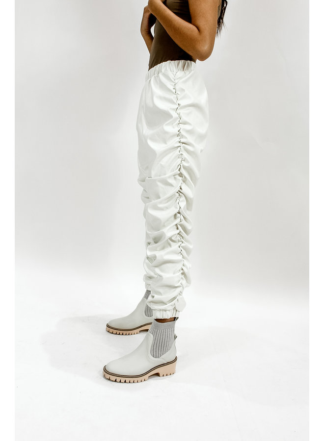 The Groove Leather Joggers