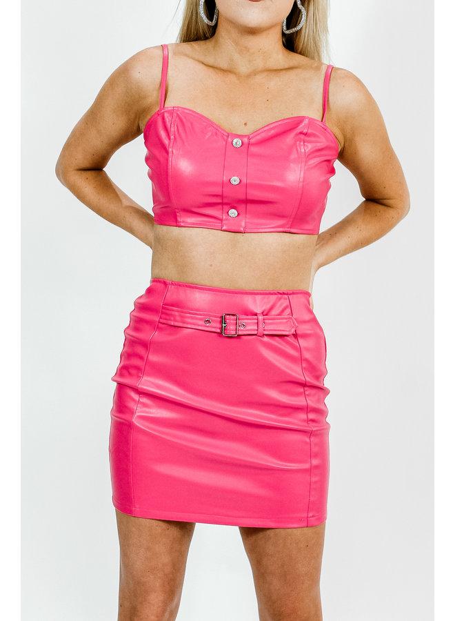Come On Barbie Leather Set